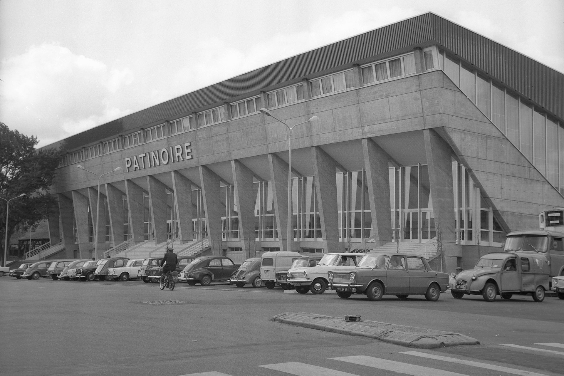Patinoire du Lyon Hockey Club en 1969