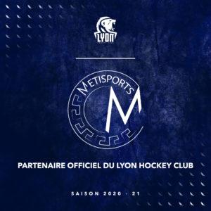 Lyon Hockey Club partenaire Metisport