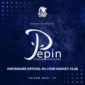 Lyon Hockey Club partenaire Pépin