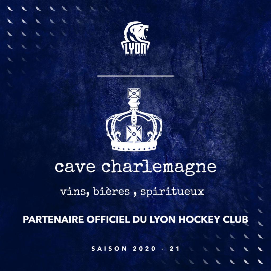 Cave charlemagne partenaire lyon hockey club