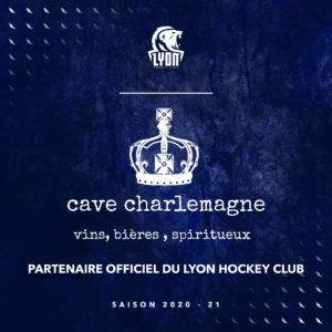 Cave charlemagne partenaire lyon hockey club
