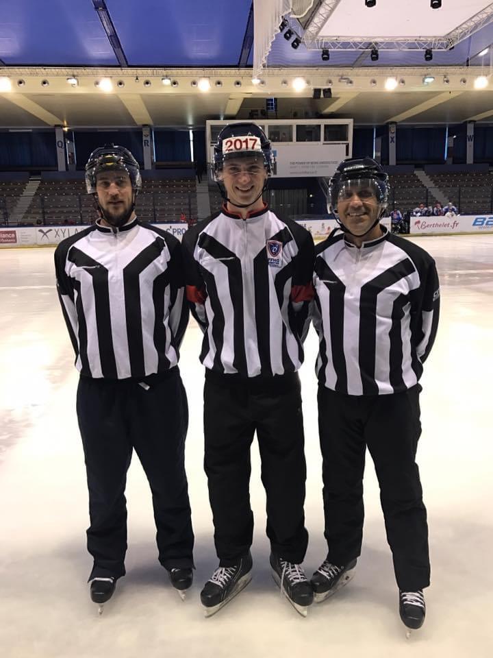 Arbitres lyon hockey club 2