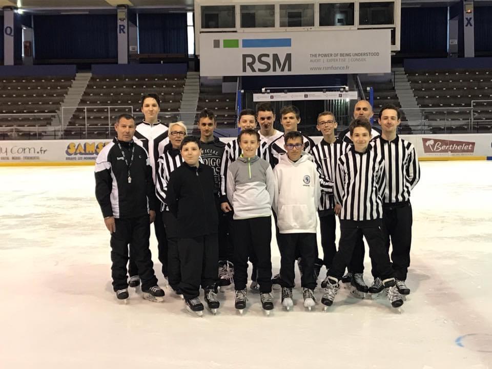 Arbitres lyon hockey club