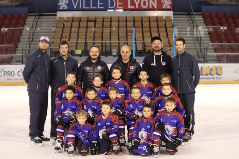 Equipe u6:u7 lyon hockey club